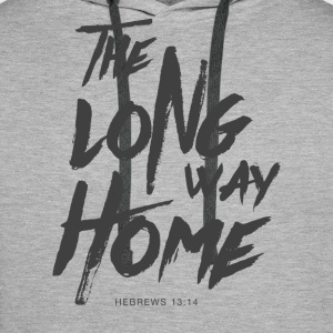 The Long Way Home Hoodies & Sweatshirts - Men's Premium Hoodie