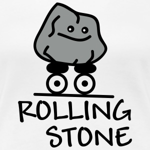 Rolling Stone Tee shirts - T-shirt Premium Femme