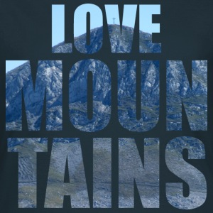 Love Mountains T-shirts - Dame-T-shirt