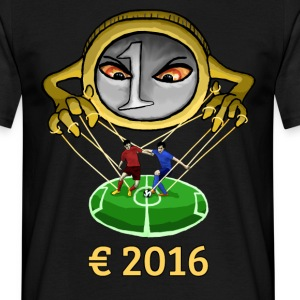 Euro and Football 2016 Manipulation T-Shirts - Men's T-Shirt