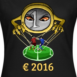 Euro and Football 2016 Manipulation T-Shirts - Women's T-Shirt
