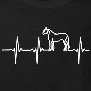 My heart beats for horses Shirts - Kids' Organic T-shirt