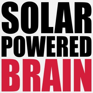 solar powered brain  Aprons - Cooking Apron