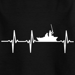 MY HEART BEATS FÜRS FISHING Shirts - Kids' T-Shirt