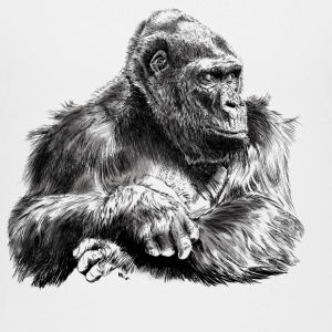 gorilla T-shirts - Teenager premium T-shirt