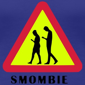 Smombie - Girls T-Shirt - Frauen Premium T-Shirt