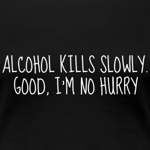 Alcohol - Drunk - Bier - Alkohol - Party - Humor T-shirts - Premium-T-shirt dam