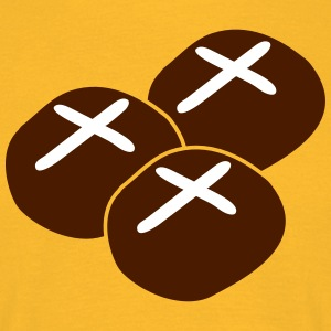 three hot cross buns T-Shirts - Men's T-Shirt