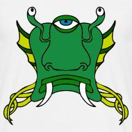 Motif ~ Tête d'alien verte