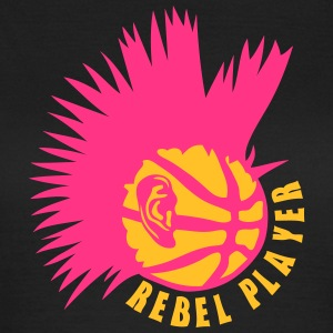 punk rebell basketball ohr logo T-Shirts - Frauen T-Shirt