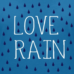LOVE RAIN Women's V-Neck T-Shirt - Women's V-Neck T-Shirt