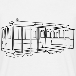 San Francisco Cable Car T-Shirts - Men's T-Shirt