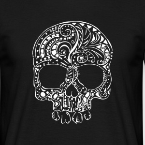 Tribal tattoo gothic skull Men's T-Shirt - Men's T-Shirt