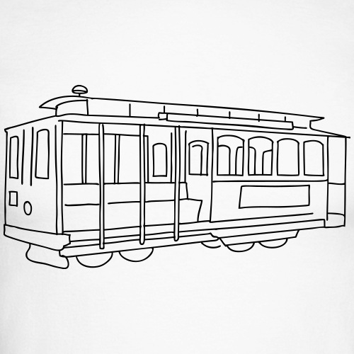 Cablecar Straßenbahn San Francisco