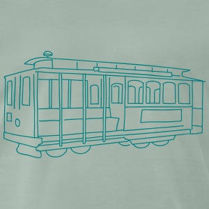 San Francisco Cable Car T-Shirts - Männer Premium T-Shirt
