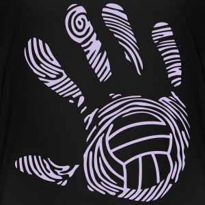 volleyball wasserball hand aufdruck 9_11 T-Shirts - Teenager Premium T-Shirt