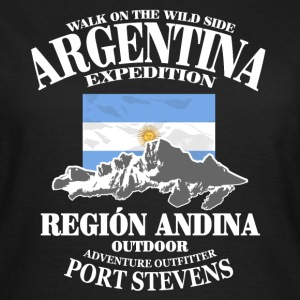 Argentina - Flag & Mountains T-shirts - Vrouwen T-shirt