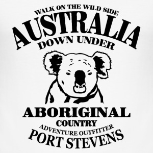 Koala - Australia T-Shirts - Men's Slim Fit T-Shirt
