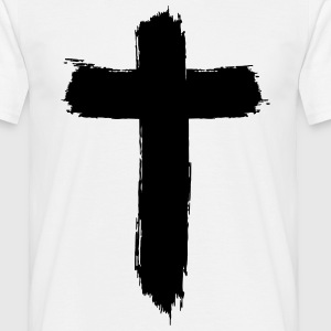 Brushed-Cross T-Shirts - Männer T-Shirt
