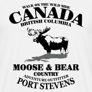 Moose - Canada T-Shirts - Men's T-Shirt