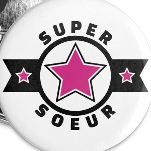super soeur (v.4) Badges - Badge moyen 32 mm