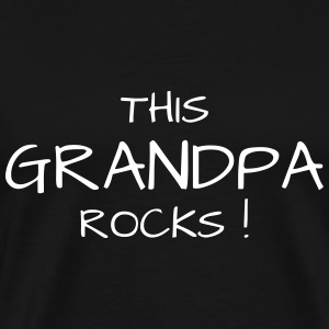 grootvader familie opa gepensioneerde pensionering T-shirts - Mannen Premium T-shirt