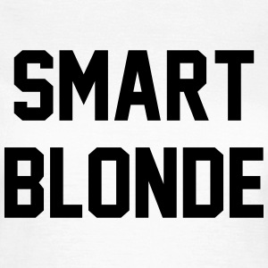 Smart blonde T-skjorter - T-skjorte for kvinner