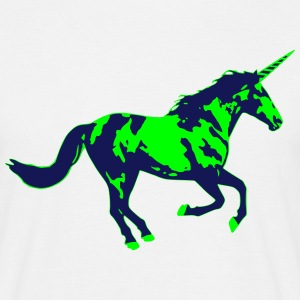 Einhorn Fabelwesen Unicorn Dream Phantasie T-Shirts - Männer T-Shirt