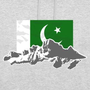Pakistan - Flag & Mountains Pullover & Hoodies - Unisex Hoodie