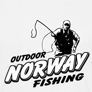 Norway Fishing  T-Shirts - Männer T-Shirt