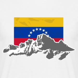 Venezuela - Mountains & Flag T-Shirts - Männer T-Shirt