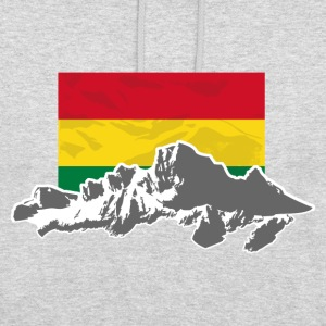 Bolivia - Mountains & Flag Pullover & Hoodies - Unisex Hoodie