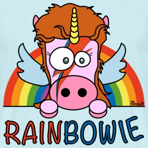 T-shirt Homme Unicorn, Licorne RainBow-ie - T-shirt Homme