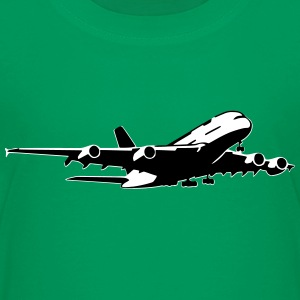 airplane Flugzeug A 380 (2 color) Tee shirts - T-shirt Premium Ado