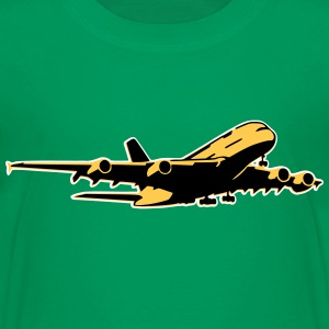 airplane Flugzeug A 380 (3 color) Tee shirts - T-shirt Premium Enfant