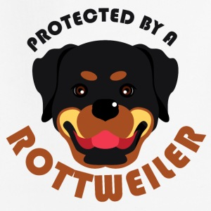 Protected by a Rottweiler - Kids' Premium Hoodie
