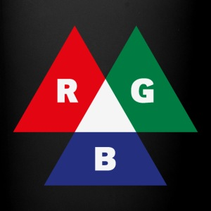 RGB Mode (Red - Green - Blue) PNG Mugs & Drinkware - Full Colour Mug