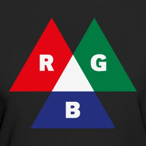 RGB Mode (Red - Green - Blue) PNG T-Shirts - Women's Organic T-shirt