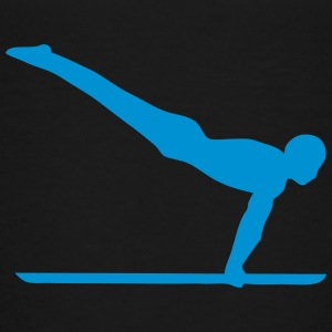 parallel bar gymnastik sportlogo 4 T-Shirts - Kinder Premium T-Shirt