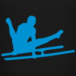 parallel bar gymnastik sportlogo 1 T-Shirts - Kinder Premium T-Shirt