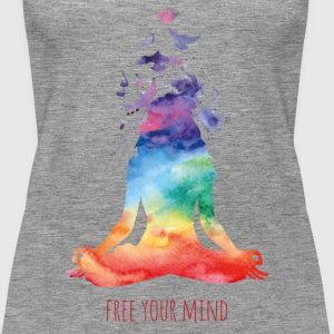 Yoga - free your mind Tops - Frauen Premium Tank Top
