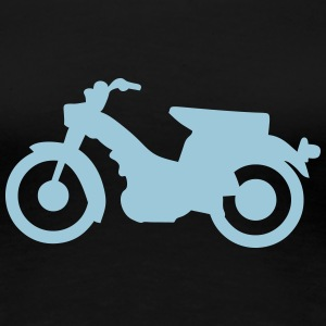 moped alt 110315 T-Shirts - Frauen Premium T-Shirt