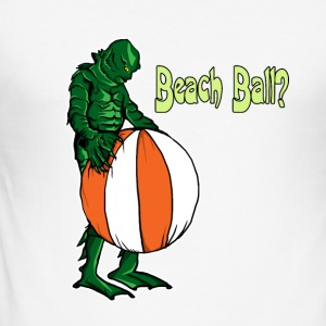 Creature With Bal - Men's Slim Fit T-Shirt