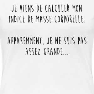 Une question de taille - T-shirt Premium Femme