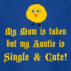 Auntie is cute - Kids' T-Shirt