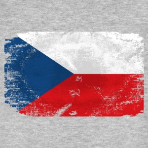 Czech Republic Flag T-Shirts - Männer Bio-T-Shirt