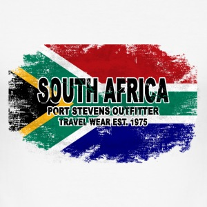 South Africa - Vintage Flag T-Shirts - Männer Slim Fit T-Shirt