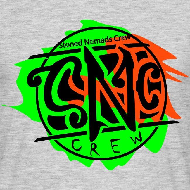 graffiti snc - crew, logo shirt