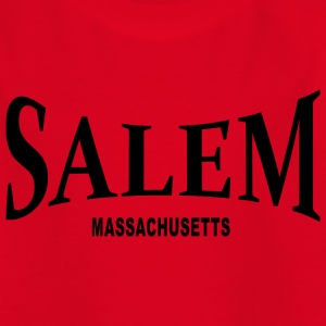 Salem Massachusetts – schwarz - Teenager T-Shirt