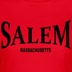 Salem Massachusetts – schwarz - Frauen T-Shirt
